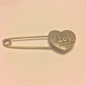 Friends Together Love Pin